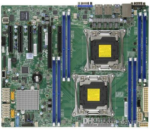 For Supermicro X10DRL-I Dual LGA 2011 Server Motherboard DDR4 ATX Support E5-2600V3 Series CPU