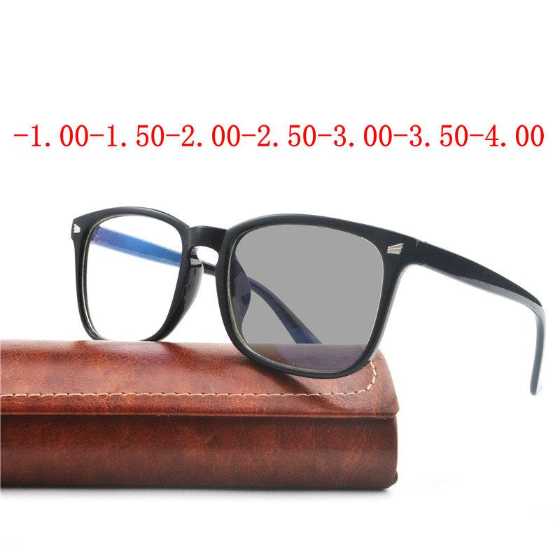 84f65ae4c9 Square Glasses Frame Women Finished Sun Photochromic Myopia Optical  Eyeglass Frames And Prescription Lenses Myopia Eyewear FML UK 2019 From  Mantous
