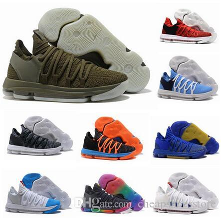 2017 fmvp correct version kevin kd x 10 mens basketball shoes warriors home wolf durant 10s training sport sneakers us 7 12 carmelo anthony shoes basketball
