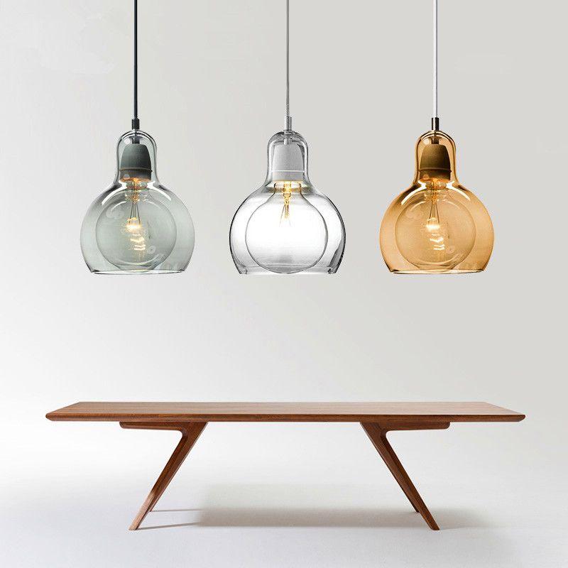 Modern Pendant Lights Bulb Pendant Lamp For Kitchen Dinning Room