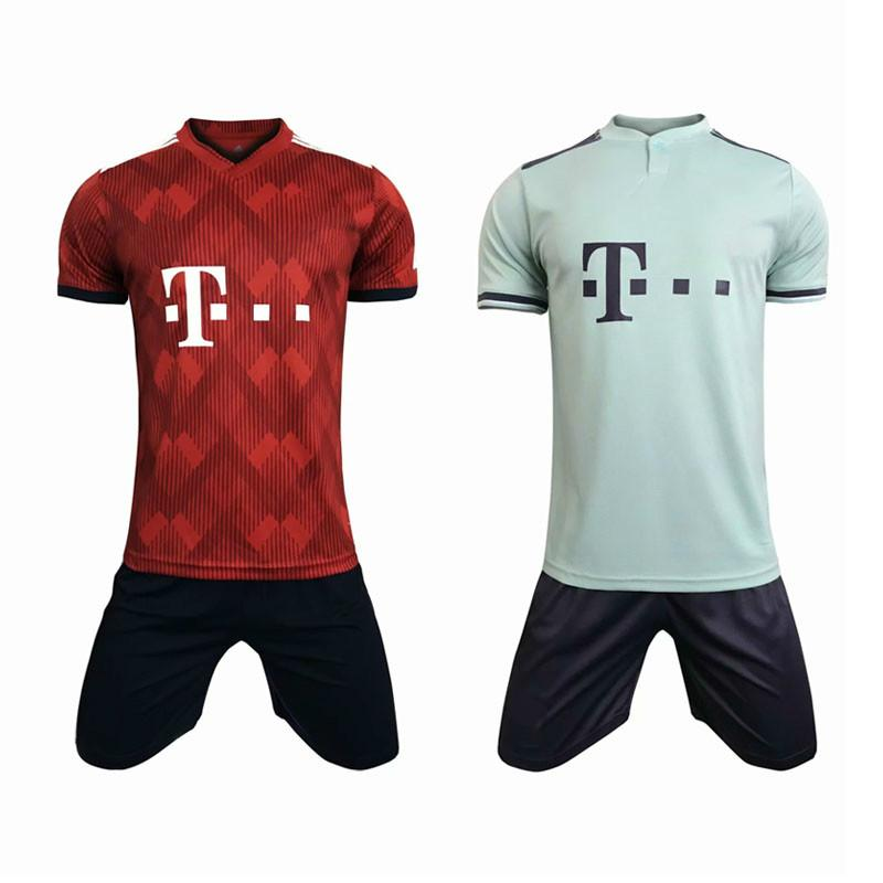 huge selection of 89a45 c0f57 Customized Soccer Shipping Cheap Dhl Home Kit Munich Accept ...