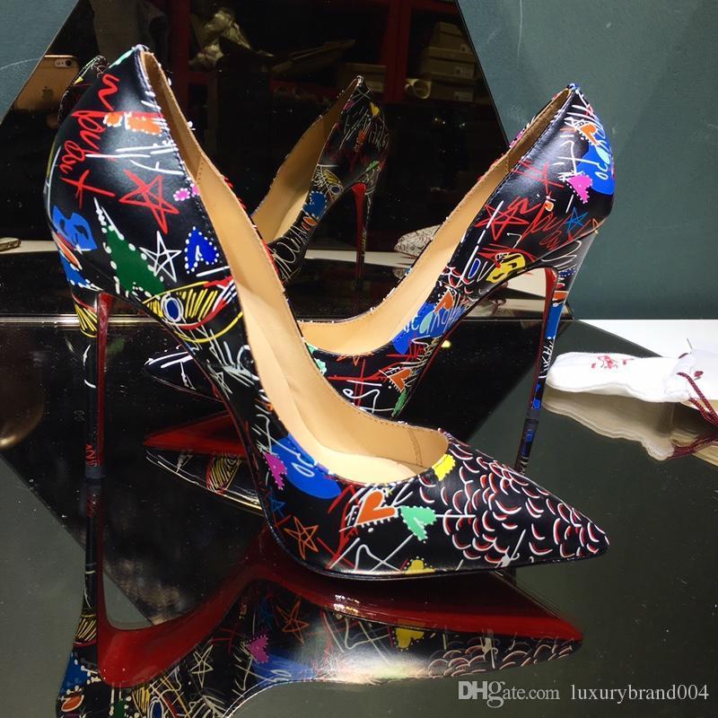 2018 nouvelles femmes de luxe à talons hauts chaussures habillées filles de mode fashion pompes sexy chaussures de mariage