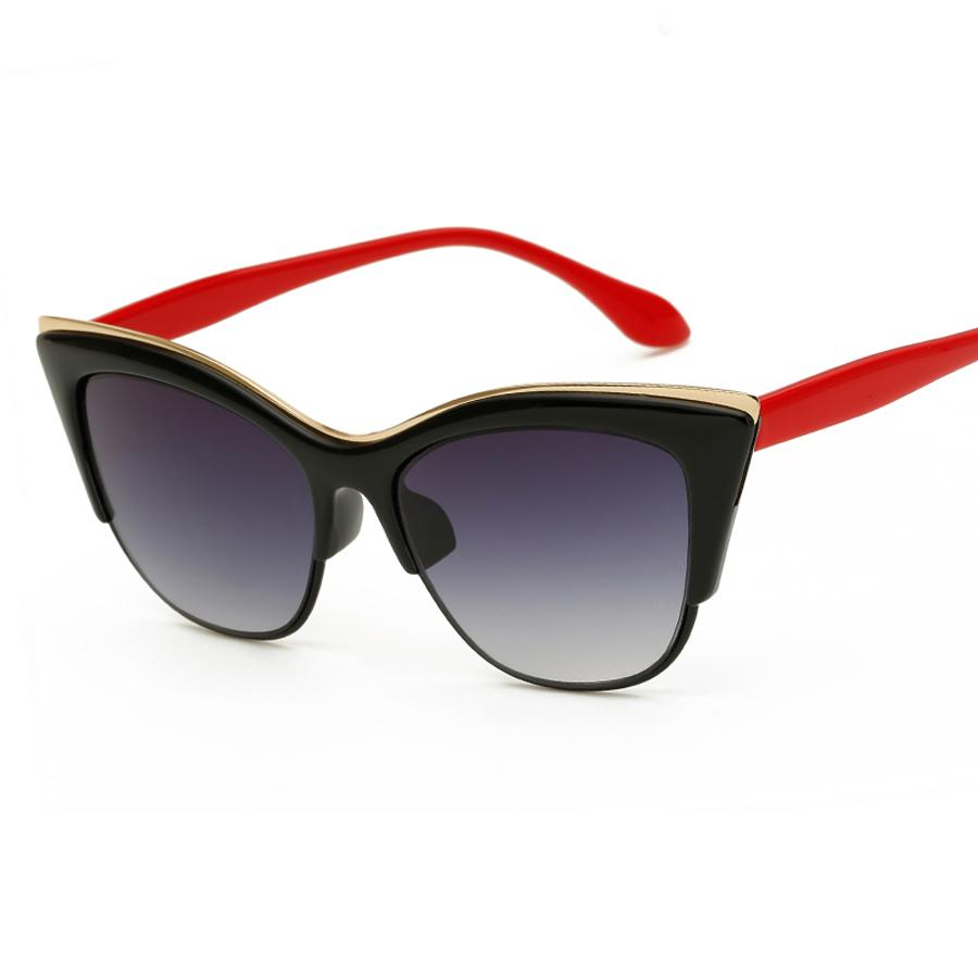 3db9b946a1 Compre Gafas De Sol De Ojo De Gato Para Mujeres Sunglass Men Lentes Opticos  Hombre Gafas Lunettes De Soleil Femme Eyewear Shades Rays Bril A $36.61 Del  ...