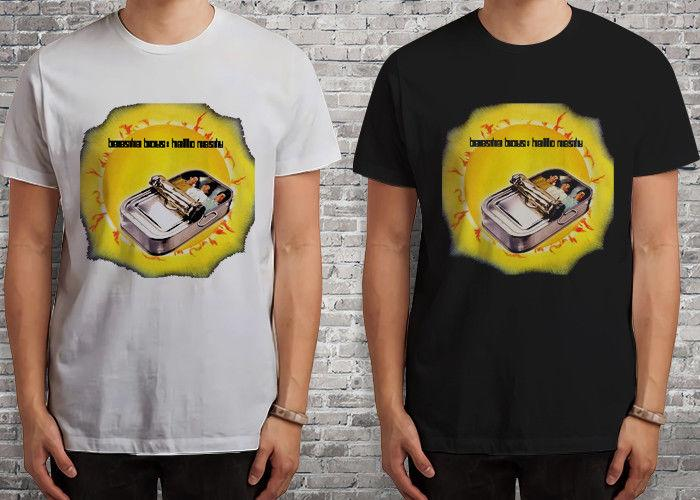 New Beastie Boys Hello Nasty Rap Hip Hop Black White T Shirt Shirts