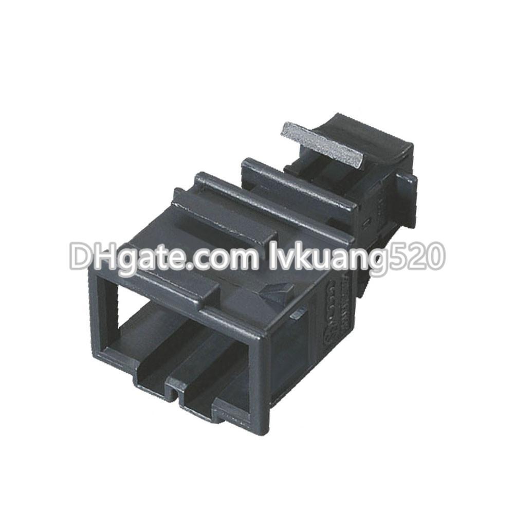 4 Pin Black Connector Automotive Terminal Block Connector With Terminal 3B0972732, DJ7049A-1.5-11
