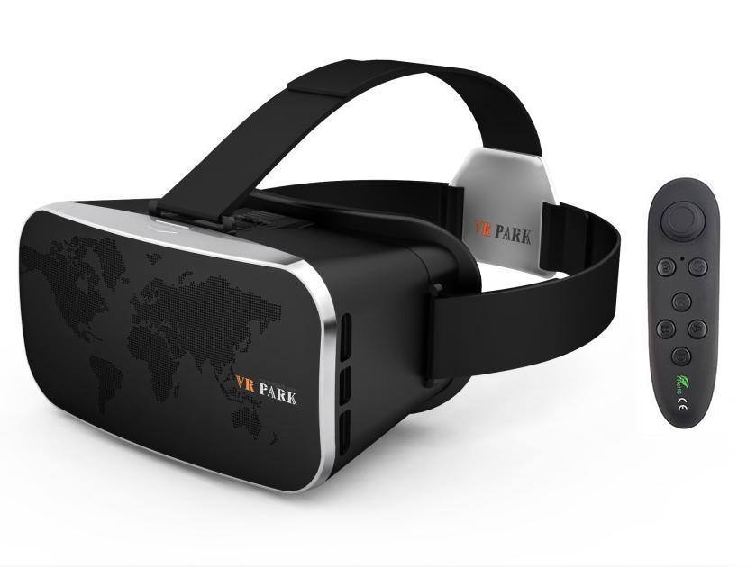 aeb01709f62b3 Compre 3D Realidade Virtual Do Realce Dos Auriculares Dos Óculos De Realidade  Virtual VR Dos Olhos Dos Filmes 3D Da Viseira Anti Olhos Virtuais De  Bluelight ...