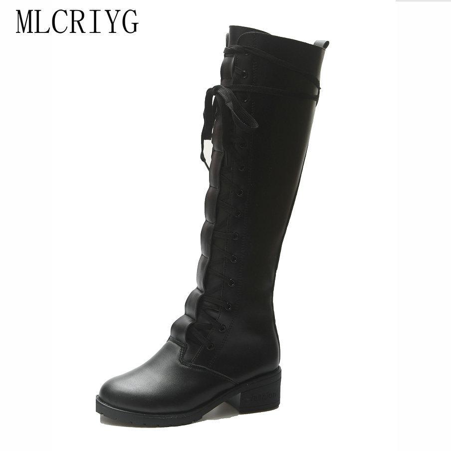 meilleures baskets 75f8c d8389 2018 nouvel hiver femmes bottes de pluie med talons élégant chaussures  habillées noires femme sexy chaudes dames au genou chaussures confortables