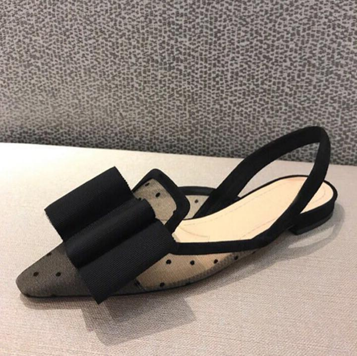 Negro Estrecha La Mariposa 2018 Pilka Zapato Planas Nudo Gladiador Sandalias Malla Punta Aire Marca Diseñador Mujer De Dot Sandalia lFcTK1J