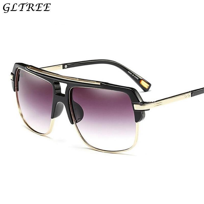 Compre 2018 Óculos De Sol De Luxo Óculos De Sol Das Mulheres De Design Da  Marca De Metal Metade Quadro Óculos De Sol Dos Homens Óculos Femininos  Oculos G261 ... 07c76ed045