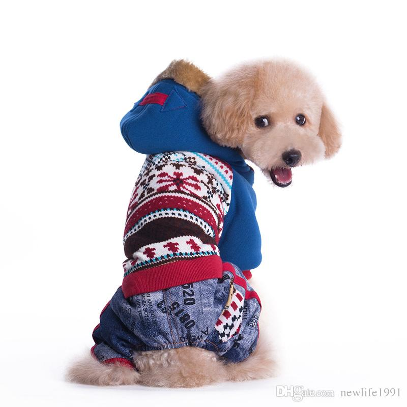 Cartoon Style Puppy Clothes New Clothing Pet Fashion Clothing Winter Spring Hooded Casual Dog Hot Sale Hoodie Pets Clothings