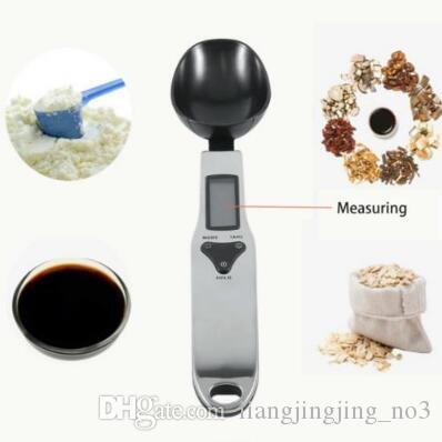 300g 0 1g portable lcd digital kitchen scale measuring spoon gram electronic spoon weight volumn food scale cca8876 scale measuring spoons lcd measuring
