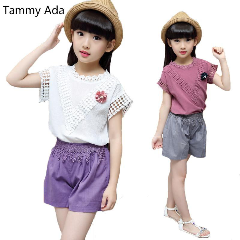 505d8b0ac857 Tammy Ada 2018 Girls Clothing Sets For Baby Kids Clothes New Casual ...