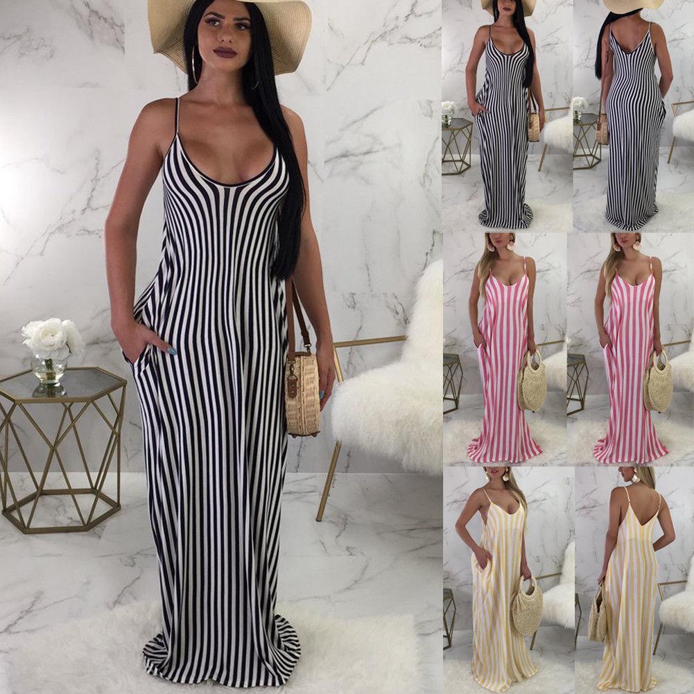 Mujer vestido de playa