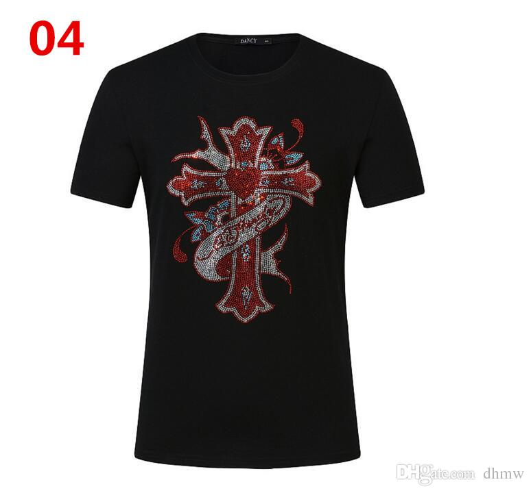 New Hot Fashion Sale Brand Clothing Men Print Cotton Shirt T-shirt men Women T-shirt 11 styles S-5XL