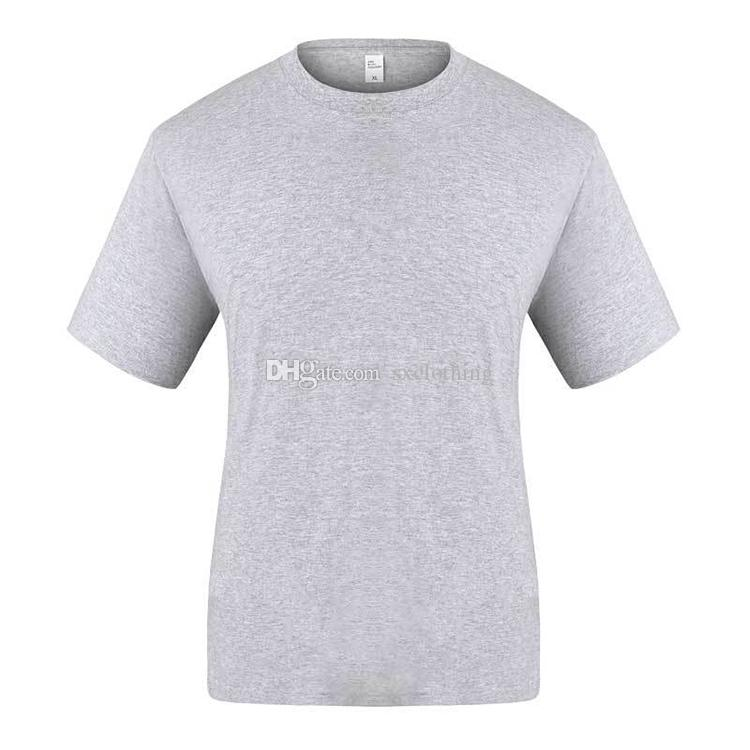 54b528710b1 2019 Comfortable Fabric Round Neck Short Sleeve Grey Clothes Men T Shirt  Print From Sxclothing