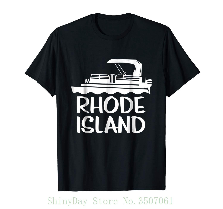 c0aa94095e1d0c Großhandel Pontoon Rhode Island Ponton Tshirt Damen Rundhals Bestseller  Herren Natural Cotton Shirt Von Shinydaystore, $24.2 Auf De.Dhgate.Com |  Dhgate