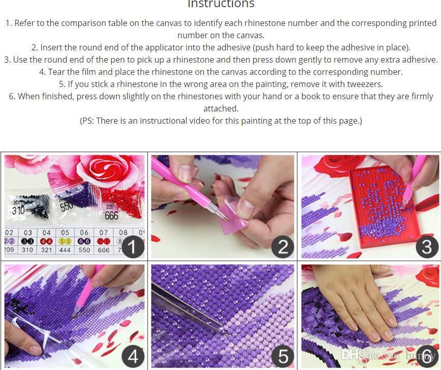 Broderie Animal Paon Full Strass 5D DIY Diamant Peinture Point De Croix Diamant Mosaïque Décor Artisanat outils