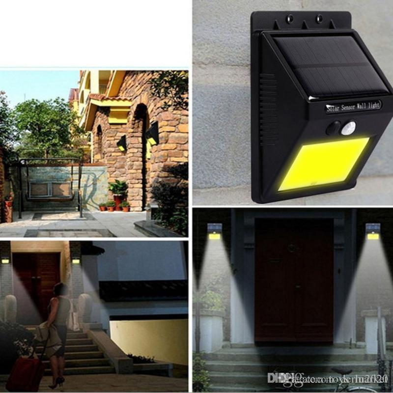 2019 NEW 20 LED Solar Power Spot Light Motion Sensor Outdoor Garden Wall  Light Security Lamp Gutter From Derlu2020, $5.11 | DHgate.Com