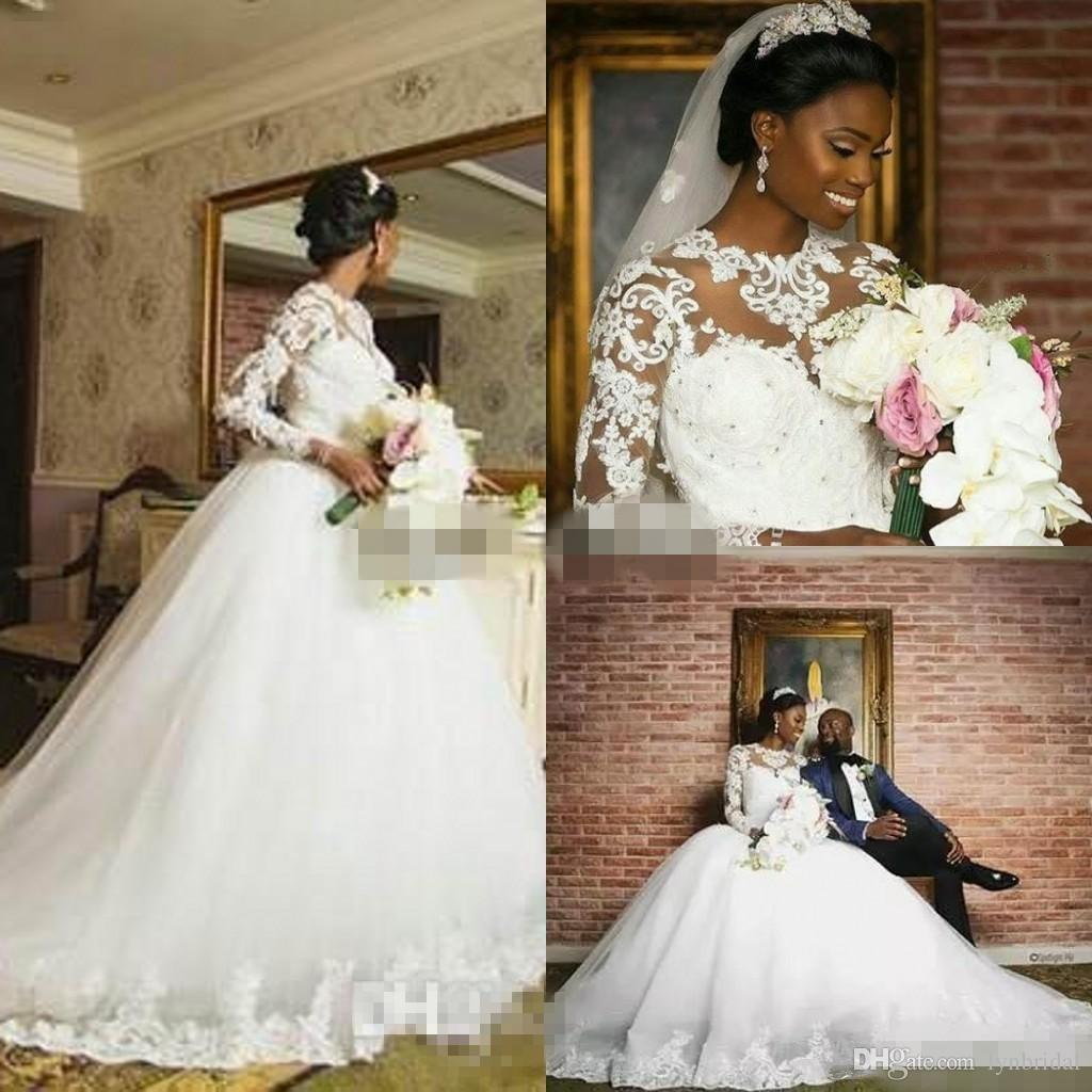 Discount South African Ball Gown Wedding Dresses 2018 Spring Summer ...