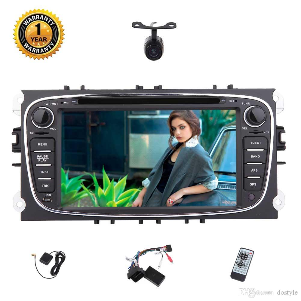 Eincar 7'' In Dash Car DVD Player For Ford Focus Android 7.1 2G+32G Car Stereo GPS Navigation Bluetooth/USB/3G/WIFI/1080P