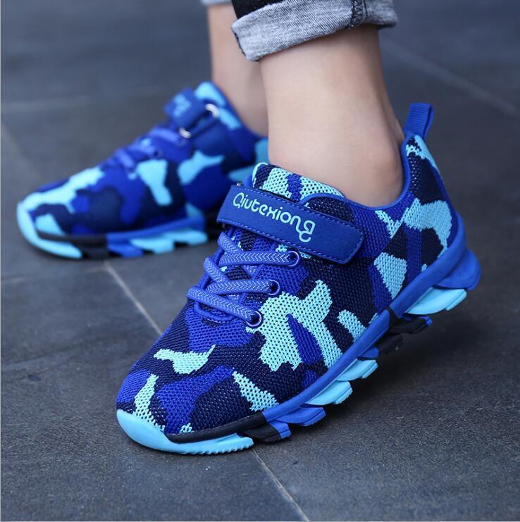 537243f65 Compre Longitud De La Plantilla 16 24 Cm 4 14 Años Niños Corriendo  Camuflaje Informal Niños Niños Zapatillas Deportivas Chicas Respirar Zapatos  A  10.74 Del ...