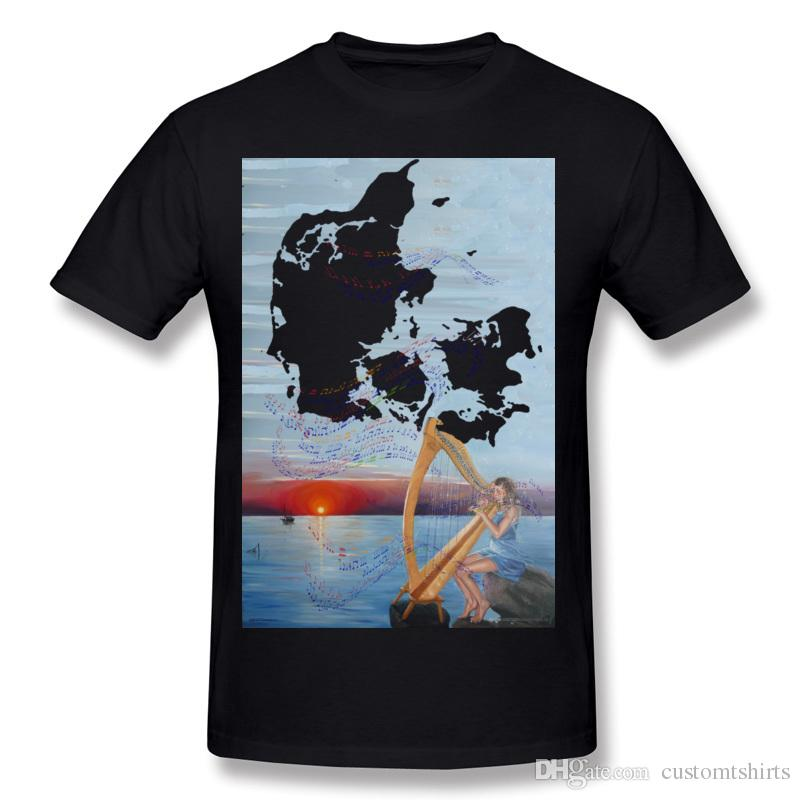 529c1624d6aff Brand New Men 100% Cotton Saras Melody T Shirt Men O Neck Beige Short  Sleeve Slim Fit T Shirt Big Size Normal T Shirt T Shirts Print Tees Online  From ...