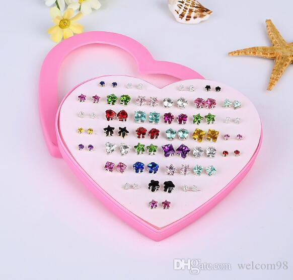36 пар/Лот микс стиль мода серьги ногтей Для ремесло серьги ювелирные изделия подарок E13 Бесплатная доставка