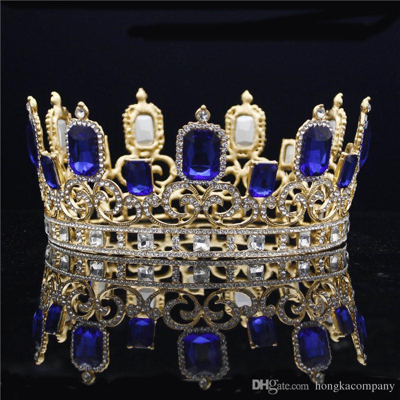 2019 Female Wedding Crown Bride Tiara Rhinestone Crystal Tiaras And Crown  Head Jewelry Queen Diadem Prom Dinner Hair Accessories From Hongkacompany aaf00df3d444
