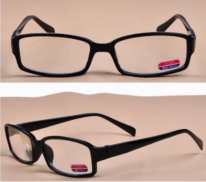 resistir à fadiga Super leve Resina óculos Presbiopia óculos para Anciões Com diferentes Graus Elegantes Óculos de leitura de alta definição
