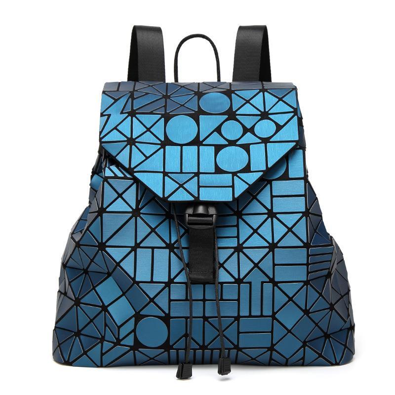 2017 New Laser Matte Geometric Bao Bao Women Backpack Bags Women Fashion  School Bag Folding Girl Shoulder Bag Daily Backpacks Hydration Backpack  Womens ... a21393b2e81bb