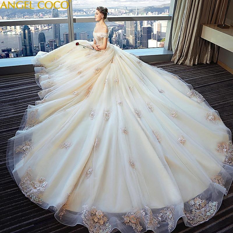 big sale 8c16d bdacd Vestiti da sposa di maternità di lusso senza spalline senza spalline per le  donne incinte Abiti da gravidanza di abiti da sposa