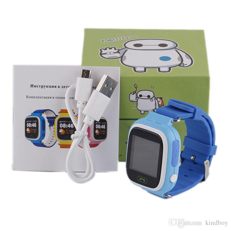 Q90 Bluetooth Smartwatch with GPS WiFi LBS for iPhone IOS Android Smart Phone Wear Clock Wearable Device Smart Watch DHL shipping