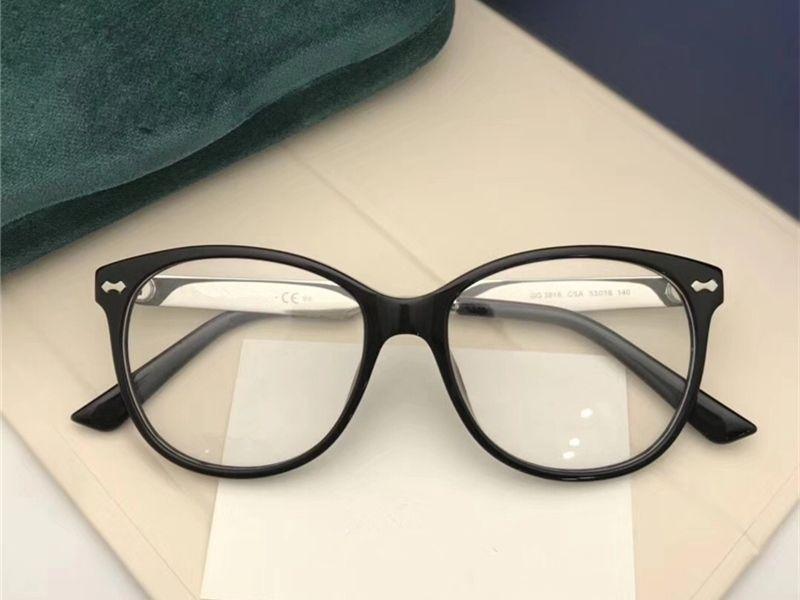 3cf7ecc5e0 2018 New Vintage Optical Eyewear Cat Eye Full Frame Fashion Glasses Lady  Luxury Myopia Sunglasses Big Frame Shortsight Glass With Package Heart  Sunglasses ...
