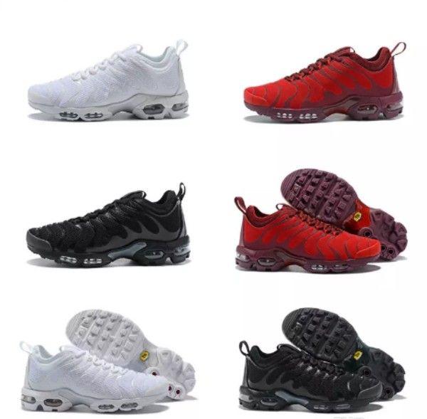 25794f0185b 2018 New Update TN All Black White Red Men Women Sport Running Shoes ...