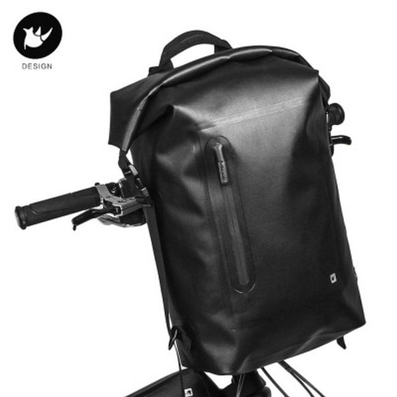 7bb860552255 RHINOWALK 20L Large Capacity Bicycle Front Bag Waterproof Multifunctional  Bike Backpack Cycling Outdoor Riding Cycling Shelf Bag Cycling Saddle Bags  Bicycle ...