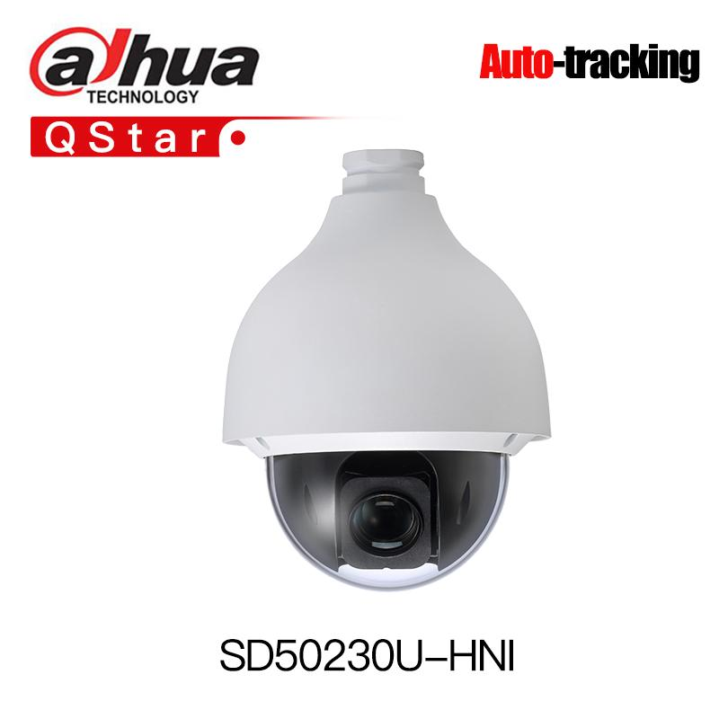 Dahua H 265 Auto-tracking PTZ SD50230U-HNI 2MP Starlight 30x PTZ Network  Camera High Speed IP Dome Camera IP67 Smart-tracking
