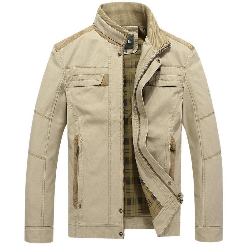 Ceket Erkekler Askeri denim ceketler erkek bahar sonbahar ceket jaqueta masculino erkek ordu kot bombacı ceket homme casaco masculino