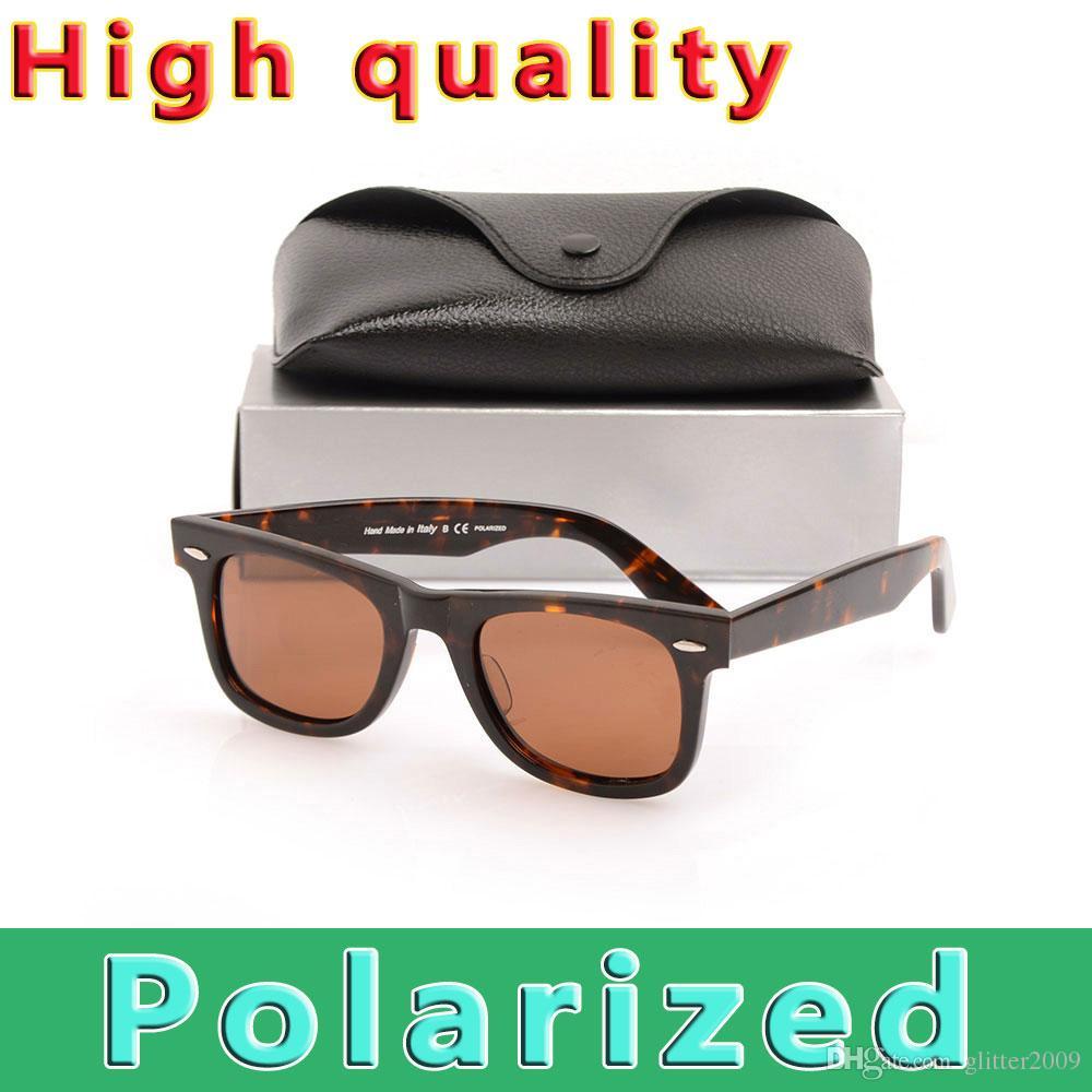 ac4c9f1cc17 High Quality Polarized Sun Glasses Brand Designer Sunglasses ...