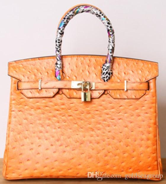 63bfd37965f9 Bags Ostrich Shoulder Fashion Crocodile Wholesale Bride Wedding Women  Handbag Tote Lady Purse UK Au France Genuine Leather Bag Paris US EUR  Womens Purses ...