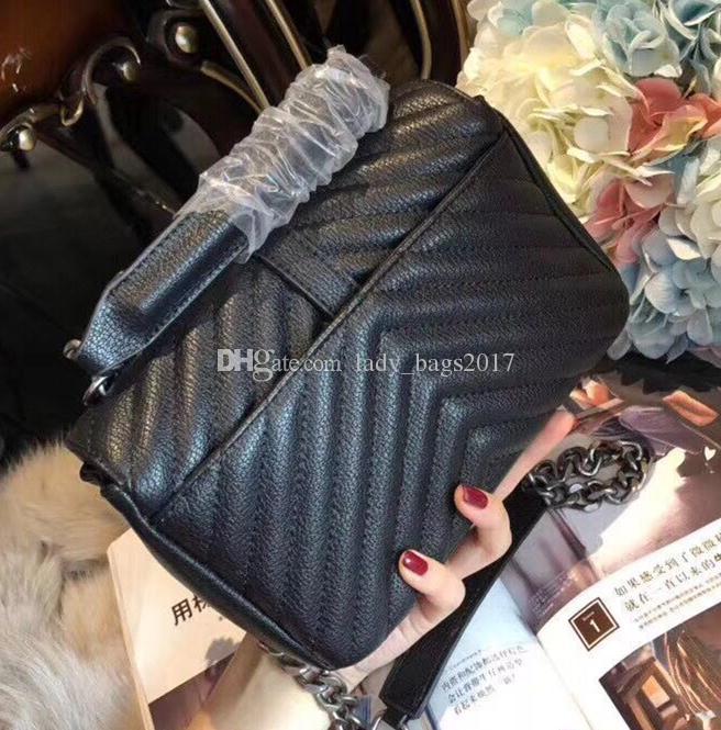 Newset colori della borsa di spalla classico delle donne feminina frizione tote borse Lady Messenger Bag borsa Shopping Tote
