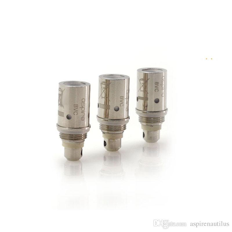 Venta al por mayor Original Aspire BVC bobina General BDC bobinas para CE5 ETS Maxi Vivi Nova K1 K2 tanque envío gratis DHL