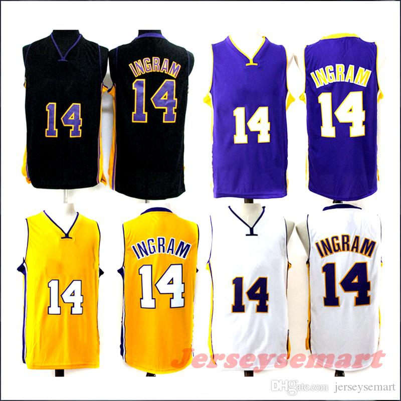 ... ebay 2018 los angeles lakers city edition black jersey 2018 new 14  brandon ingram basketball jerseys 1c7340e20