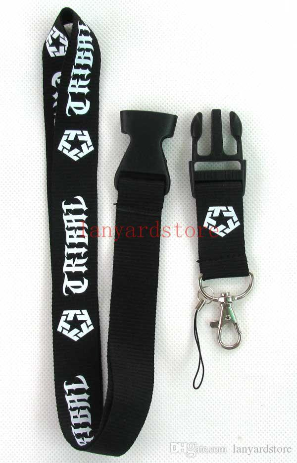 Fashionable American street brands Cell Phone Charm logo Clothing brand neck strap key chain lanyard for cell phone straps