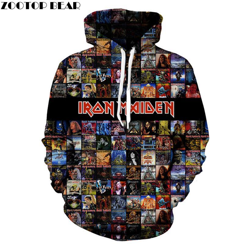 d95a355ca0157 Iron Maiden 3D Hoody Men Funny Hoodie Groot Sweatshirt Brand Tracksuit Printed  Coat Male Jacket Unisex New DropShip ZOOTOPBEAR Hoodies & Sweatshirts Cheap  ...