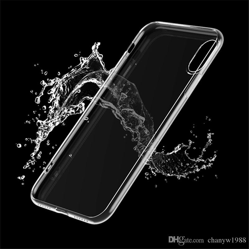 New Iphone XS Ultra Thin Soft transparent TPU Case For iPhone XR silicone Case Cover For iPhone X Crystal Clear Phone Bag Case