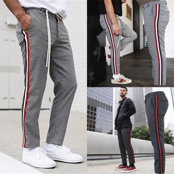 2019 Trouser Slacks Training Breathable Multi Pocket Men S