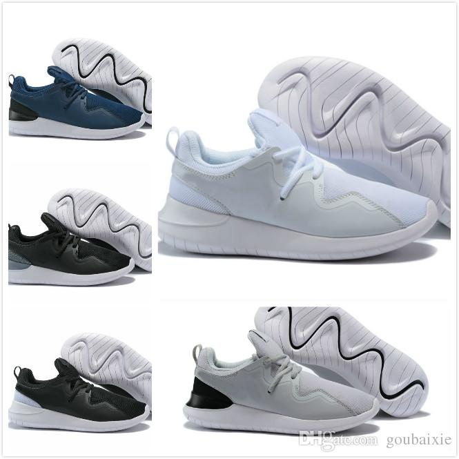 5998df74598e Hot Sale Classical Run Running Shoes Men Women Black White Low Boots  Lightweight Breathable TESSEN Sports Sneakers Trainers Size 36-45 TESSEN  Online with ...