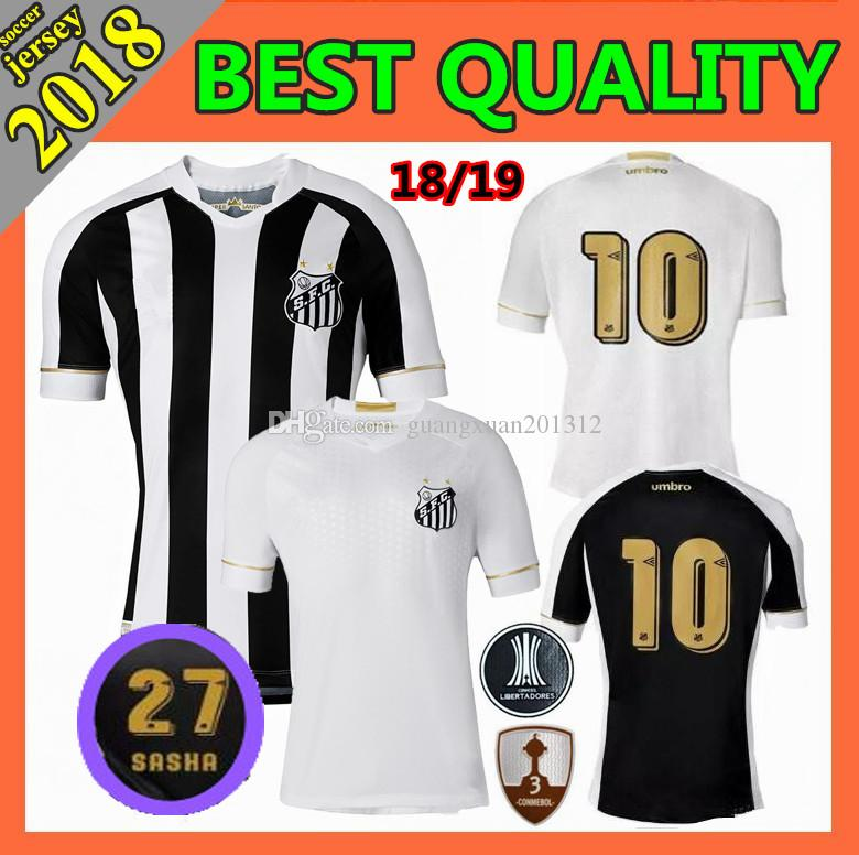 2018 2019 New Santos FC Soccer Jersey 18 19 Santos Home Away Gabriel  RODRYGO DODO RENATO SASHA Football Jersey Shirts UK 2019 From  Guangxuan201312 c18b00d43