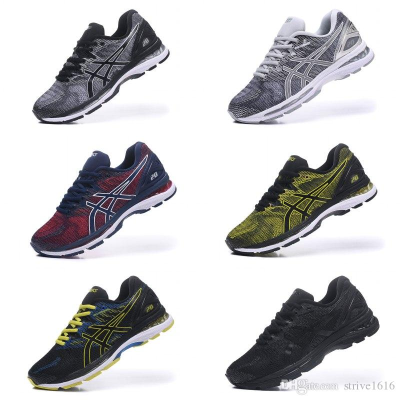 32f973fc Hot Sale Asics Gel-Nimbus 20 Men Women Running Shoes Best Quality Cheap  Training Online Designer Sneakers Sport Shoes US 7.5-11