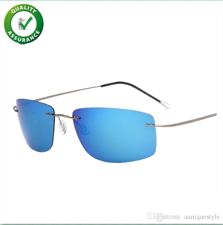 5ae260c2dcd5 Mens Luxury Designer Sun Glasses Polarized Sports Sunglasses Driving Sun  Glasses Shades For Men Women Unbreakable Rimless Cycling Outdoor Victoria  Beckham ...
